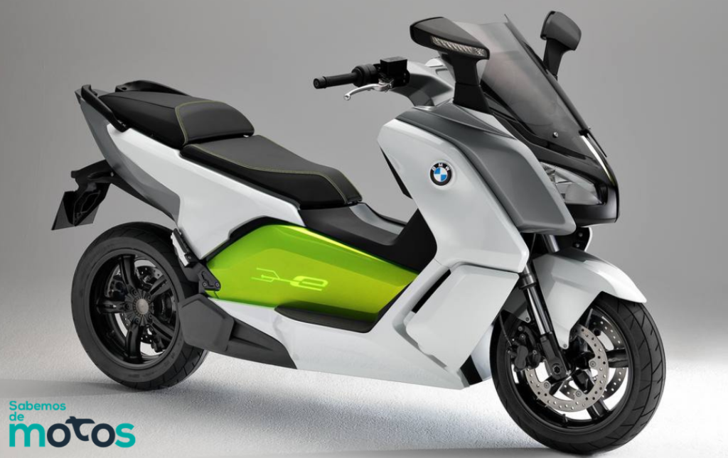 Moto eléctrica BMW C-Evolution
